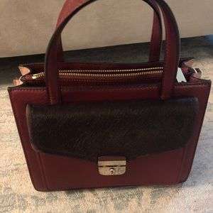 Kate Spade Burgundy and Blush Handbag 👜